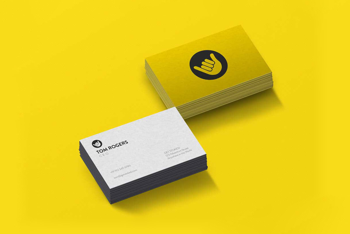 backpackers app business cards