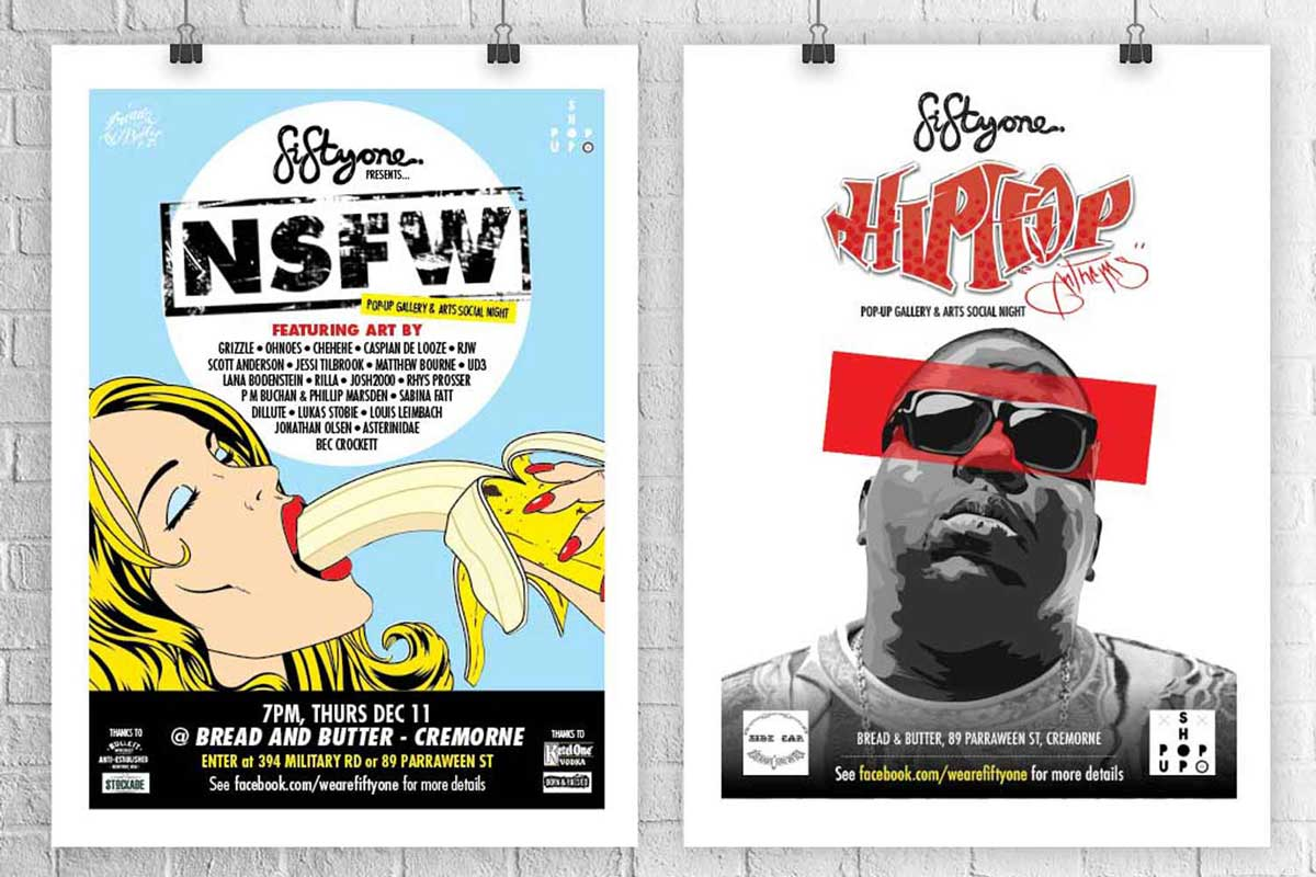 Sydney gallery posters