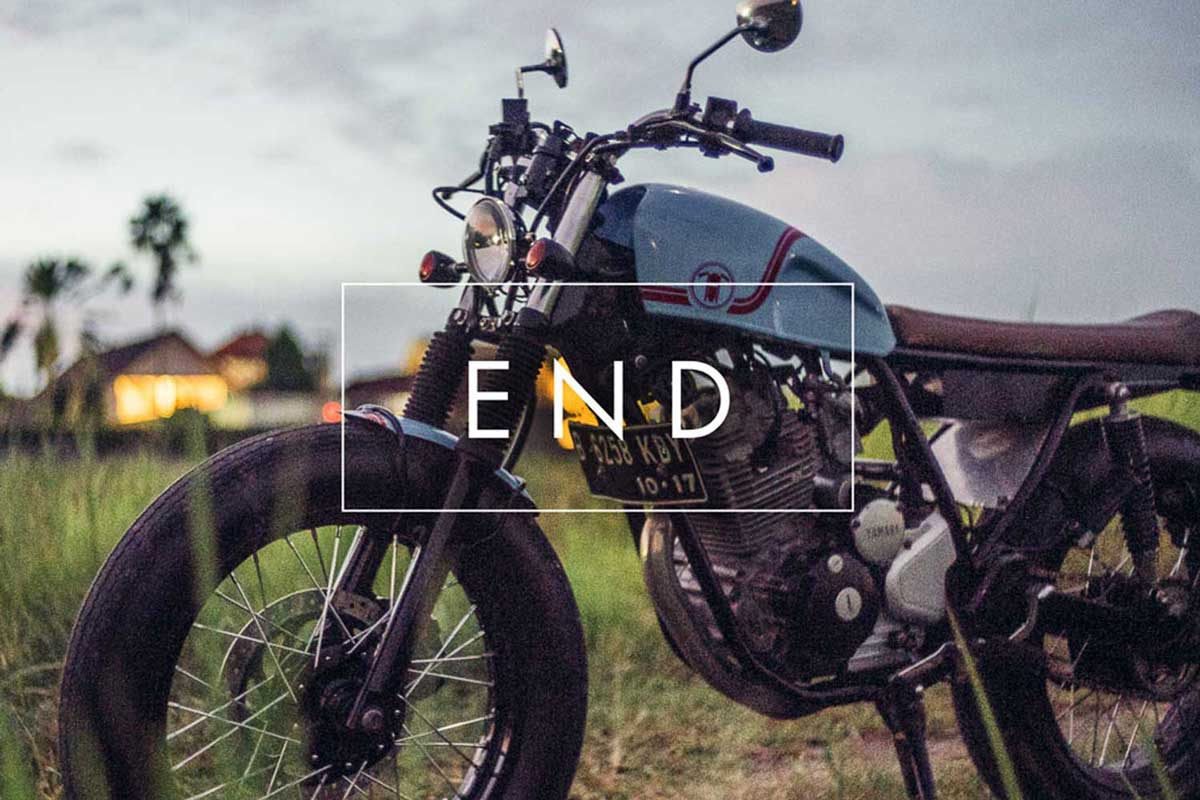 Modern Travel motorbike photo