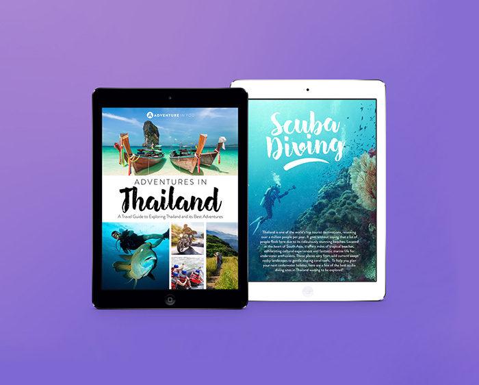 Travel eBook scuba diving