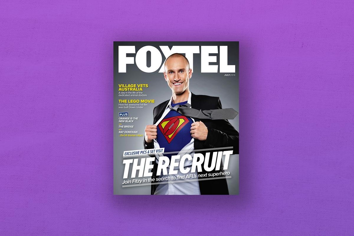 FOXTEL TV magazine cover