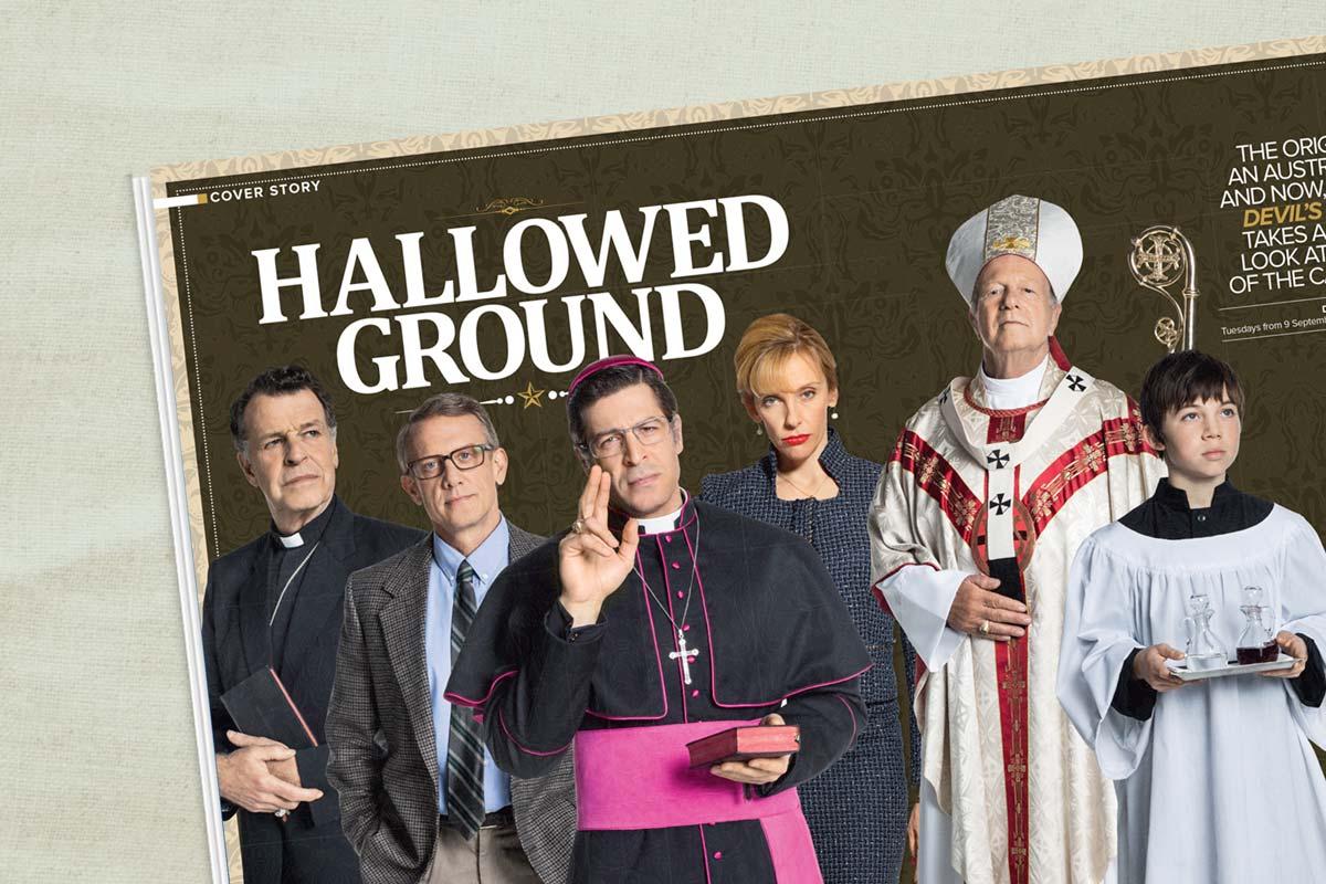 FOXTEL magazine hallowed ground