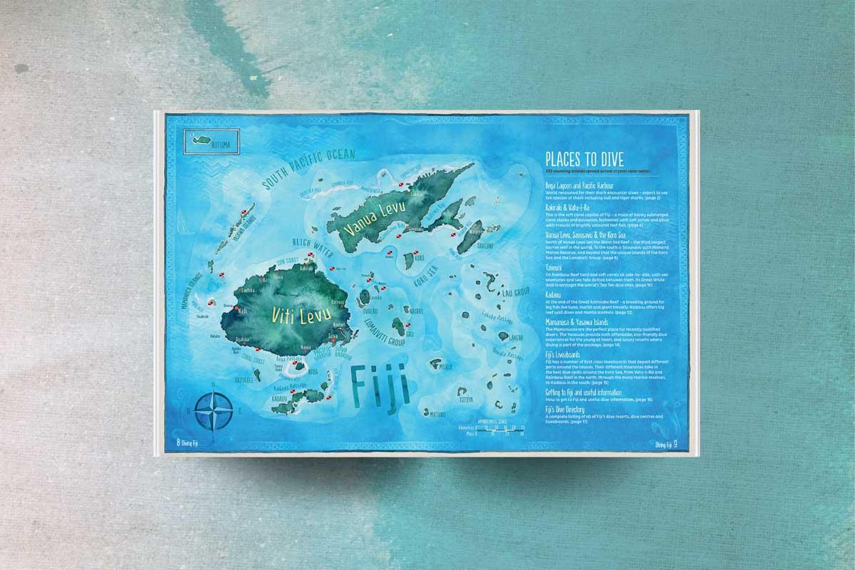 Fiji Diving viti levu vanua levu