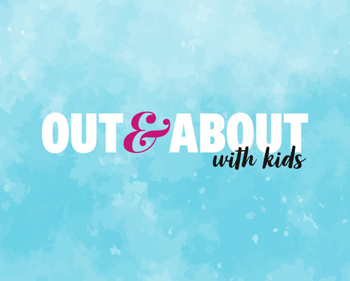 Out And About With Kids magazine logo