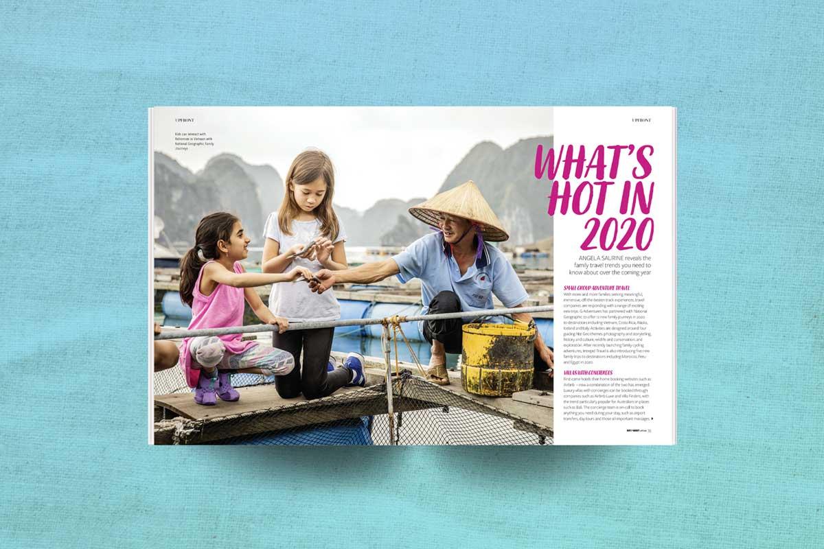 Kids travel magazine 2020 trends