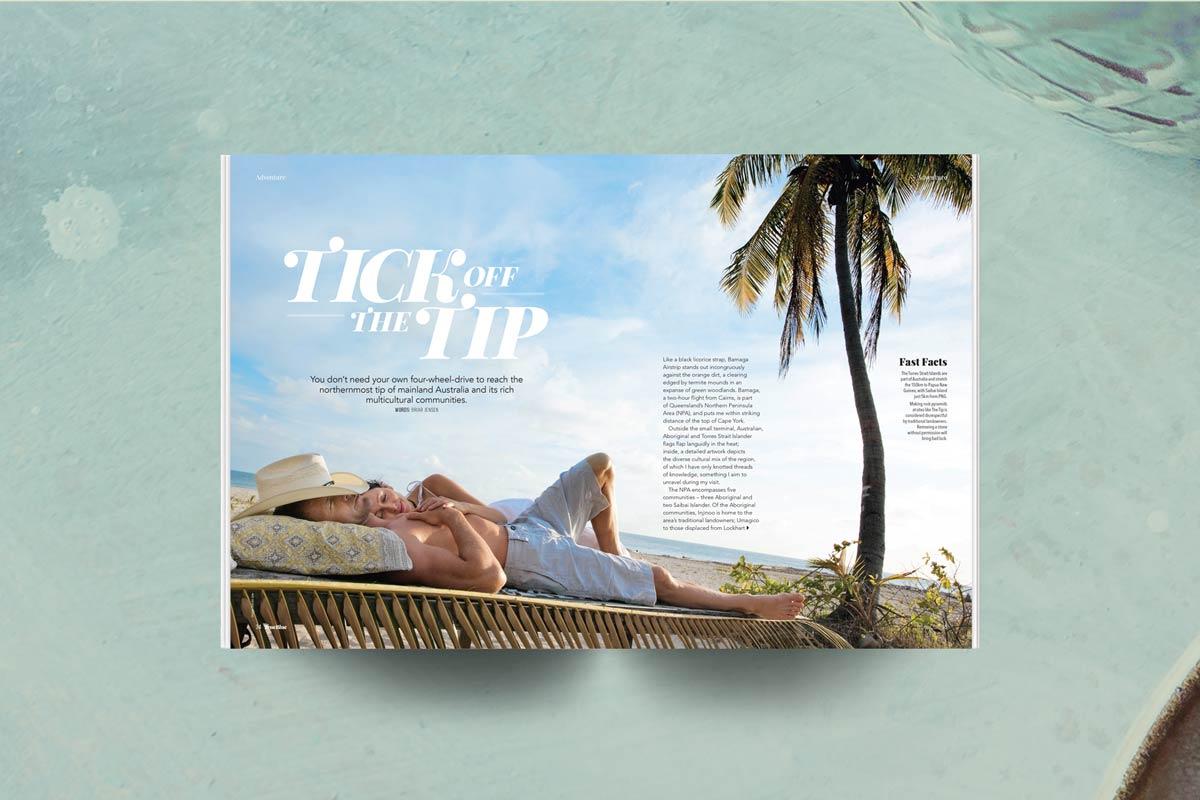 Rex magazine cape york story