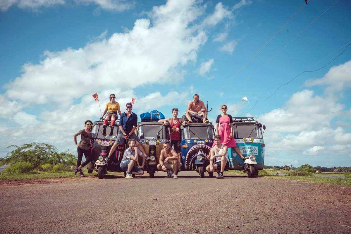 The Adventurists International adventure rickshaw run photo