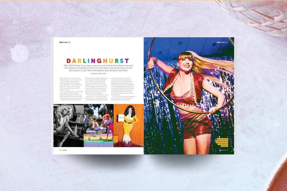 Magazine sydney mardi gras story