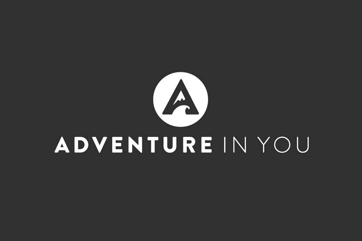 Adventure Blog logo on black