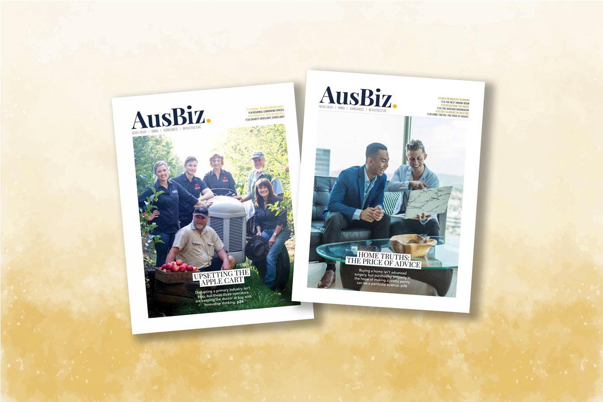 Australian business magazine covers