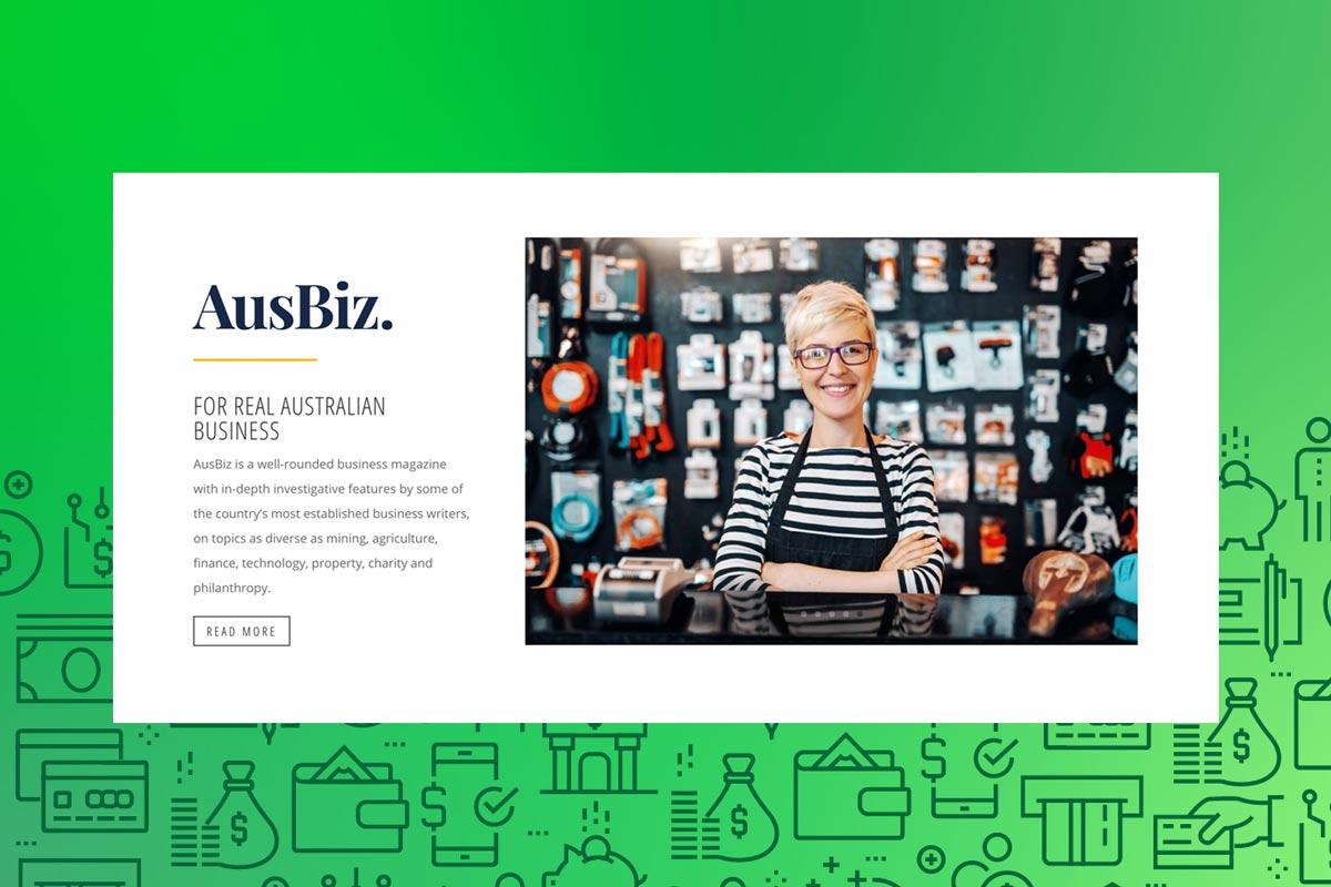 Australian business website