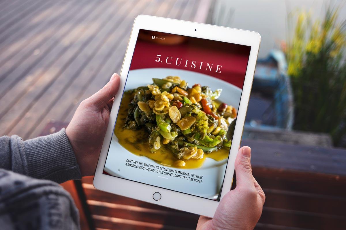 Myanmar Travel ebook cuisine