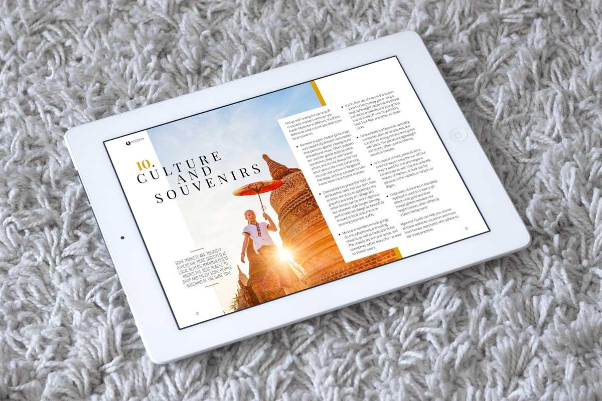 Myanmar Travel ebook ipad