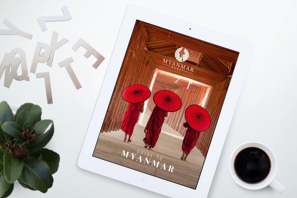 Myanmar Travel ebook coffee table