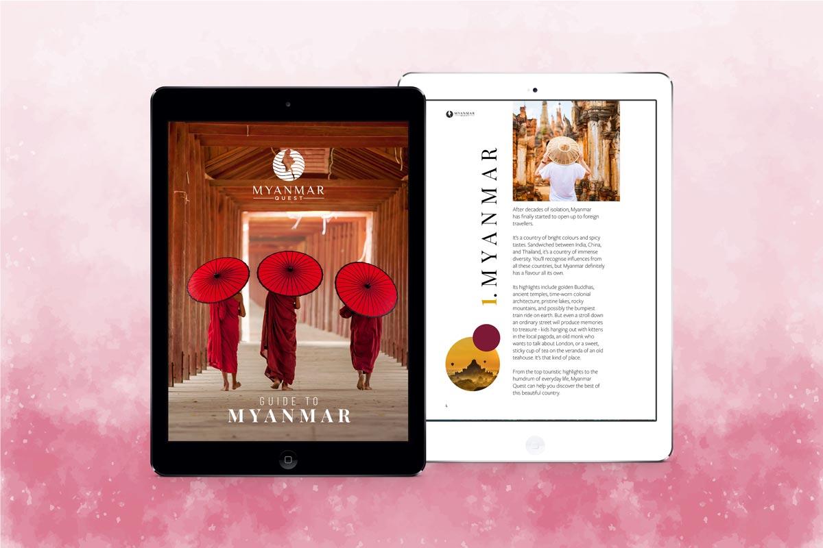 Myanmar Travel ebook front cover
