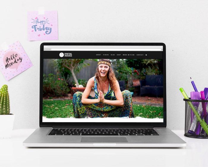 personal development website homepage